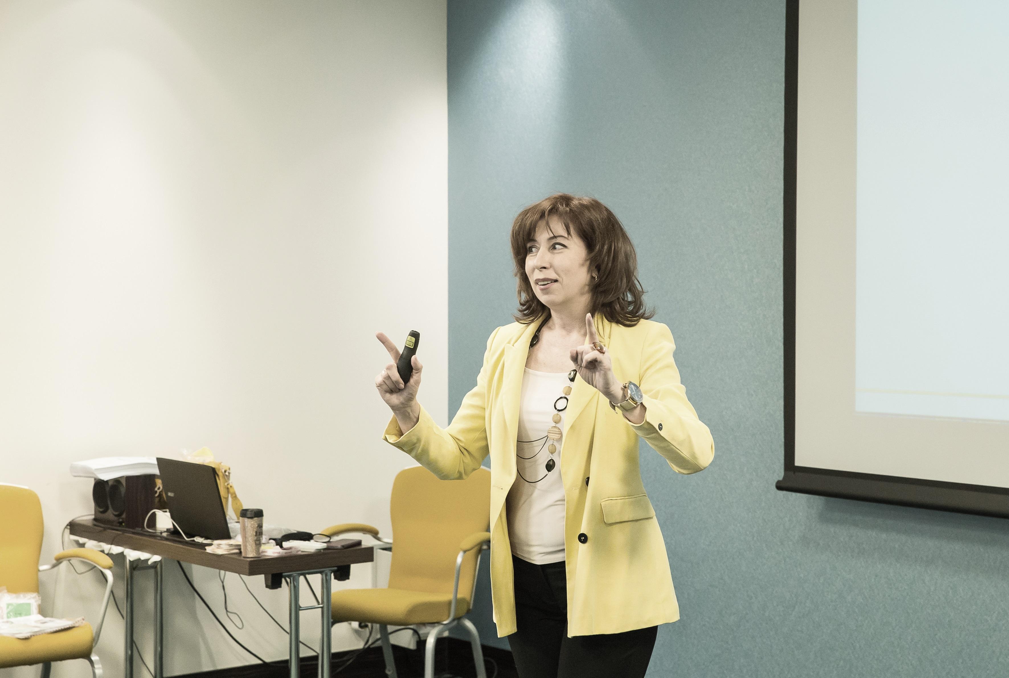 Марина Фомина - сменить профессию