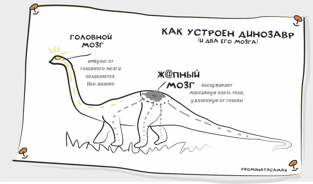 Динозавр и его мозг
